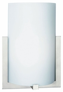 Philips FL0003836 Bow Small Satin Nickel 8 Inch Wide Transitional Lighting Sconce