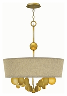 Fredrick Ramond 31245SPG Barolo Modern Spanish Gold Finish 26.5  Tall Chandelier Light