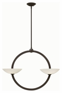 Fredrick Ramond 40754VBZ Method Modern Vintage Bronze Finish 25.75  Tall Lighting Chandelier