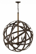 Fredrick Ramond FR40705VIR Carson Contemporary Vintage Iron Hanging Light