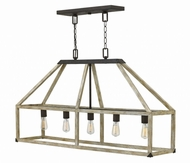 Fredrick Ramond FR41205IRR Emilie Iron Rust Kitchen Island Lighting