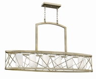Fredrick Ramond FR41616SLF Nest Silver Leaf Kitchen Island Light Fixture