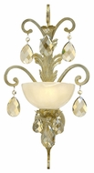 Fredrick Ramond FR44110SLF Barcelona 23 Inch Tall Traditional Wall Lighting Sconce - Silver Leaf