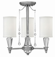 Fredrick Ramond FR44501ANI Bentley Antique Nickel Flush Lighting