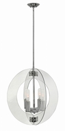Fredrick Ramond FR47506PCM Solstice Modern Polished Chrome Ceiling Light Pendant