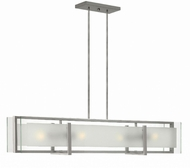 Fredrick Ramond FR56503BNI Latitude Contemporary Brushed Nickel Island Lighting