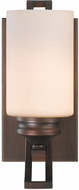 Golden Lighting 1051-BA1-SBZ-OP Hidalgo Sovereign Bronze Sconce Lighting