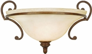 Golden Lighting 3711-WSC-CB Rockefeller Champagne Bronze Wall Mounted Lamp