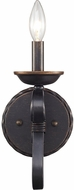 Golden Lighting 4414-1W-ABZ Navarro Aged Bronze Lamp Sconce