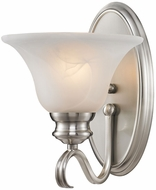 Golden Lighting 6005-1W-PW Lancaster Pewter Light Sconce
