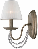 Golden Lighting 7644-1W-GA Mirabella Golden Aura Sconce Lighting