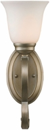 Golden Lighting 8107-BA1-WG Torbellino White Gold Wall Sconce Lighting