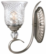 Golden Lighting 8118-1W-PW Alston Place Pewter Lighting Wall Sconce