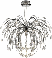 Golden Lighting C304-32-CH Palm Chrome Halogen Ceiling Lighting