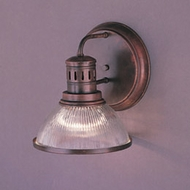 Hi-Lite Manufacturing H-260-1B-77 Wagon Wheel Rosewood Finish 11  Tall Wall Light Sconce