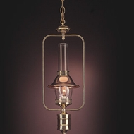 Hi-Lite Manufacturing H-281-D-41 Polished Brass/Polished Copper Finish 22  Tall Mini Pendant Light Fixture