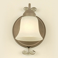 Hi-Lite Manufacturing H-295-1B-82 Sierra Wash Finish 6  Wide Light Sconce