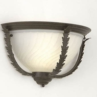Hi-Lite Manufacturing H-2984-B-104 Brentwood Cappuccino Finish 10  Tall Lighting Wall Sconce