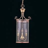Hi-Lite Manufacturing H-6157-D Beveled Traditional 9  Wide Foyer Drop Ceiling Lighting