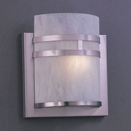 Hi-Lite Manufacturing H-702-B-11-CLD Satin Steel Finish 11  Tall Lighting Sconce
