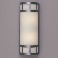 Hi-Lite Manufacturing H-7102-B-11-CLD Satin Steel Finish 6  Wide Wall Light Fixture