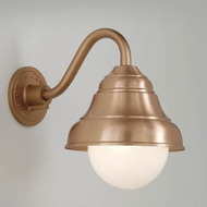 Hi-Lite Manufacturing H-7321-B-24-OP Lakeside Satin Copper Finish 9  Wide Wall Lighting Fixture