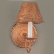 Hi-Lite Manufacturing H-8131-B-77 Rosewood Finish 6  Wide Lighting Wall Sconce