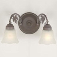 Hi-Lite Manufacturing H-9132-B-82 Sierra Wash Finish 15  Wide Wall Sconce Light