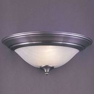 Hi-Lite Manufacturing H-97-B-11 Satin Steel Finish 17  Wide Lighting Sconce
