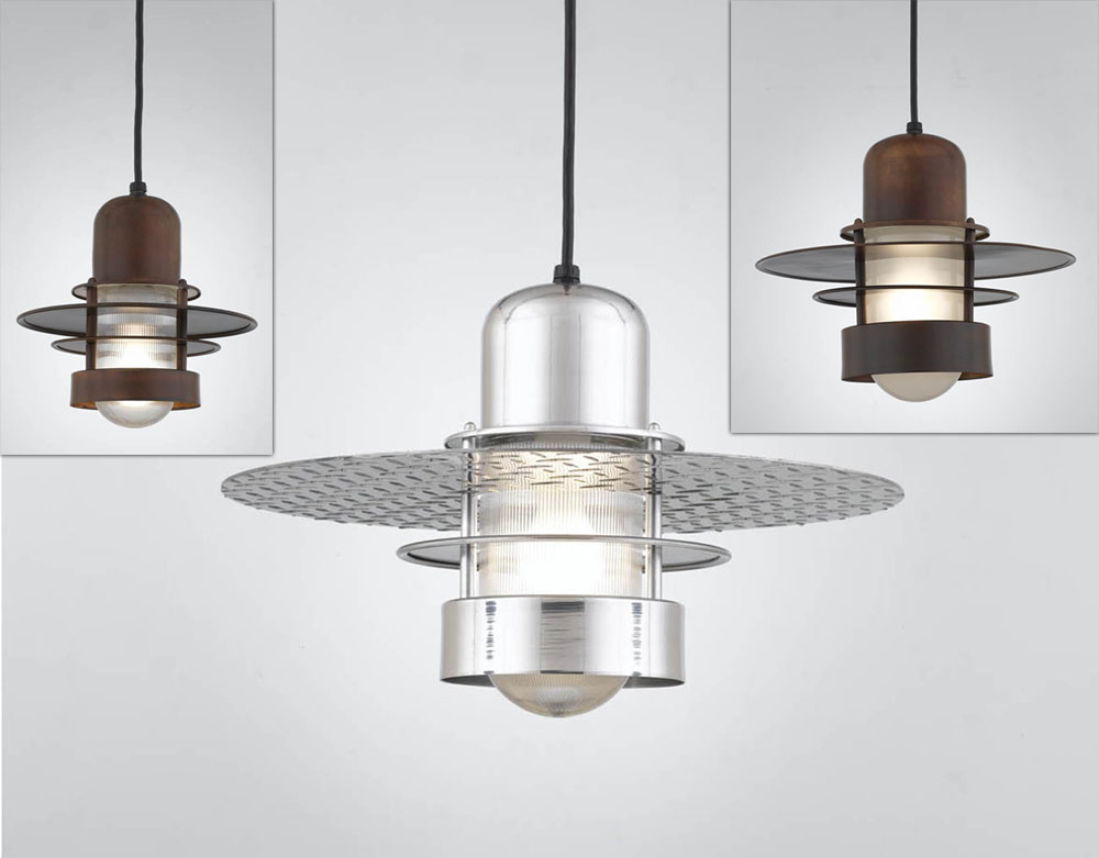 Hi Lite Manufacturing RLM Saturn Exterior Pendant Lighting