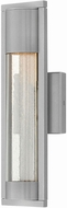 Hinkley 1220TT Mist Contemporary Titanium Halogen Outdoor Lamp Sconce