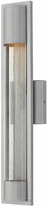 Hinkley 1224TT Mist Modern Titanium Halogen Exterior Lighting Wall Sconce