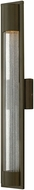 Hinkley 1225BZ Mist Contemporary Bronze Halogen Outdoor Wall Lighting Sconce