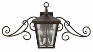 Hinkley 1433RB Trellis Traditional Regency Bronze Exterior Wall Lamp