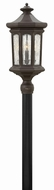 Hinkley 1601OZ Raley Traditional Oil Rubbed Bronze Exterior Lamp Post Light Fixture
