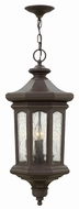 Hinkley 1602OZ Raley Traditional Oil Rubbed Bronze Outdoor Pendant Lighting