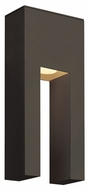 Hinkley 1642BZ Atlantis Small 13 Inch Tall Bronze Finish Contemporary Outdoor Wall Light