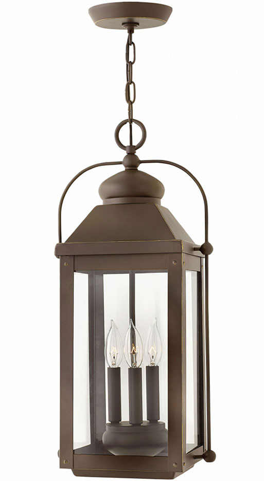 Hinkley 1852LZ Anchorage Light Oiled Bronze Exterior