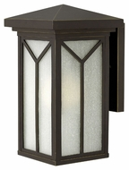 Hinkley 1990OZ Drake Small Craftsman Style 13 Inch Tall Outdoor Wall Lamp