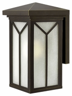 Hinkley 1994OZ Drake Medium 17 Inch Tall Outdoor Craftsman Wall Lighting