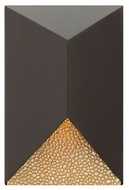 Hinkley 2184BZ Vento Contemporary Bronze Finish 12  Tall Exterior Wall Sconce
