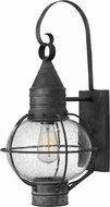 Hinkley 2204DZ Cape Cod Traditional Aged Zinc Exterior Lighting Sconce