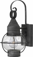 Hinkley 2206DZ Cape Cod Traditional Aged Zinc Exterior Wall Sconce Lighting