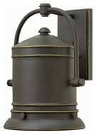 Hinkley 2214OZ Pullman Traditional Oil Rubbed Bronze Finish 10  Wide Outdoor Wall Sconce Lighting