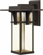 Hinkley 2325OZ-LED Manhattan Oil Rubbed Bronze LED Exterior Lighting Wall Sconce