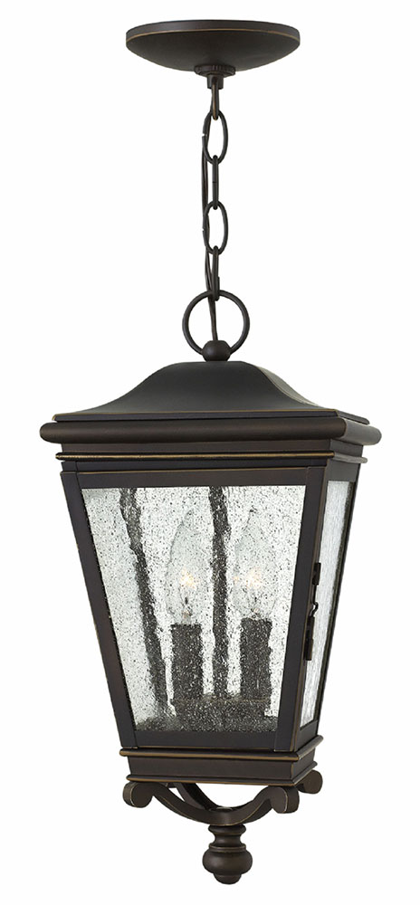 Hinkley 2462OZ Lincoln Oil Rubbed Bronze Exterior Pendant