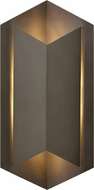 Hinkley 2715BZ Lex Contemporary Bronze LED Outdoor Wall Lamp