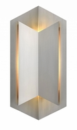 Hinkley 2715SS Lex Contemporary Stainless Steel LED Exterior Wall Sconce Lighting