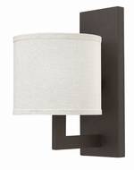 Hinkley 3210KZ Hampton Buckeye Bronze Wall Light Sconce