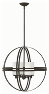 Hinkley 3274BZ Atrium Contemporary Bronze Finish 22  Wide Lighting Chandelier